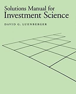 solutions manual for investment science gratis david g rh amazon ca Forensic Science Laboratory Lava Lamp Science Fair Project Board