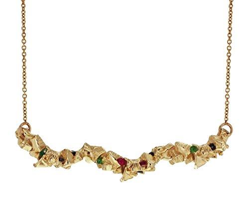 Imogen Belfield Collier Or Jaune 9carats (375/1000) Diamant Femme 41cm