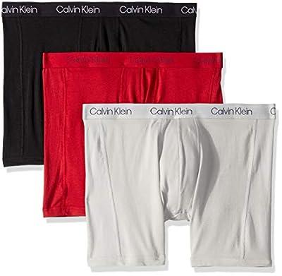 Calvin Klein Men's Underwear Breathable Cotton Mesh Boxer Briefs