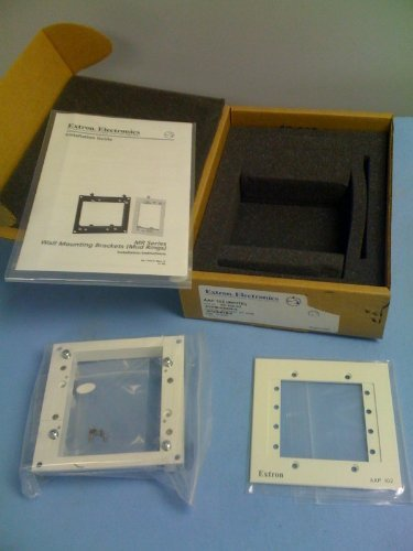Extron Two-Gang Architectural Wall Mounting Plate AAP 102 (WHITE) 60-300-03