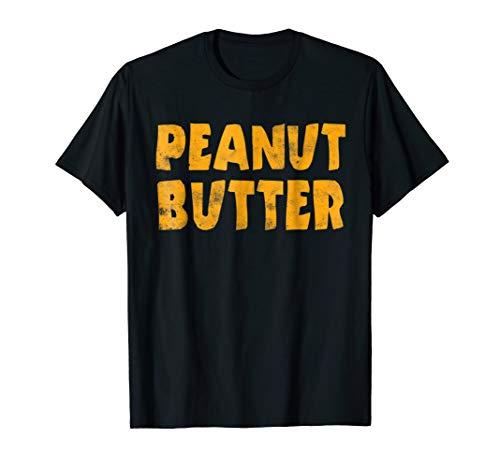 Peanut Butter T-Shirt Funny Matching Halloween Gift Shirt