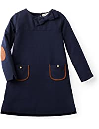 Girls' Ponte Quilted Riding Dress Made with Organic Cotton