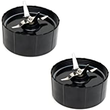 Set of 2 Cross Blades compatible with Magic Bullet Blender Juicer Mixer