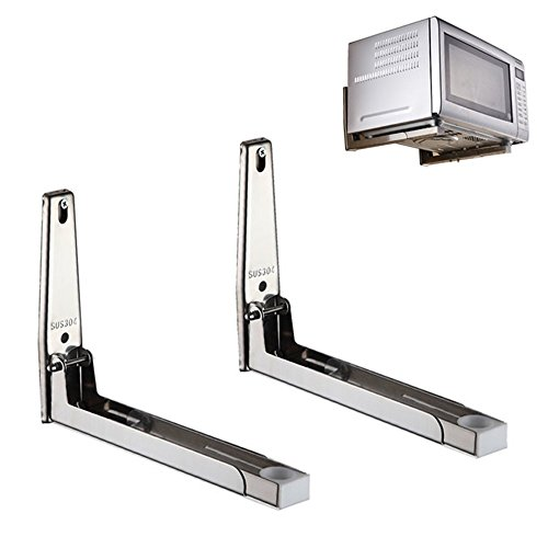 Mylifeunit 304 Stainless Steel Microwave Oven Wall Mount