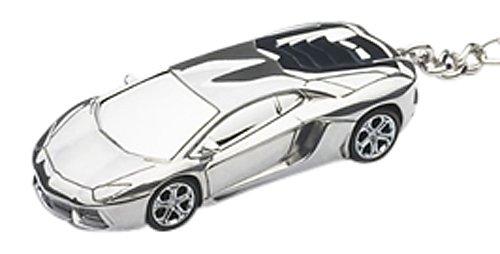 AUTOart Masstab 1:87 Lamborghini Aventador Schlusselanhanger (Aluminium)