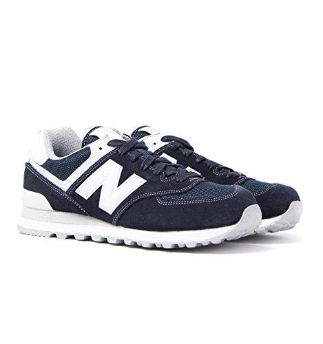 New Balance NBML574MON Sneaker, Uomo Bleu marine