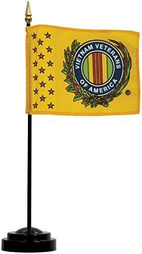 [해외]4 x 6 VVA Logo Flag And Base / 4 x 6 VVA Logo Flag And Base