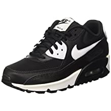 Nike Womens Air Max 90 Essential Leather Trainers