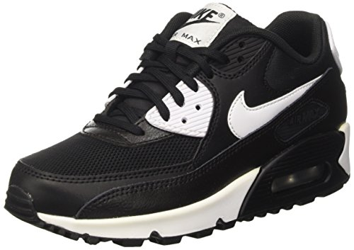 90 Silver Noir Chaussures Nike Max White Black Air Metallic Essential de Sport Femme 7ZZEqa8