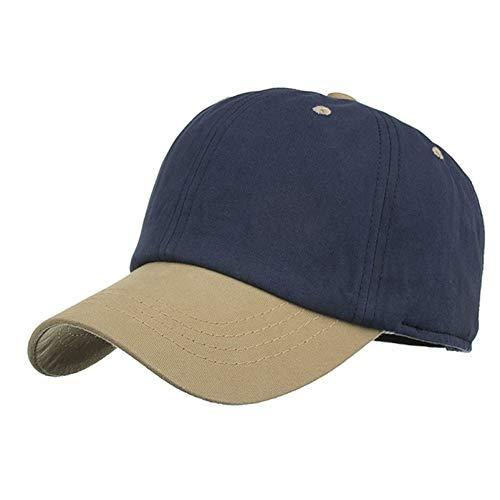 JINRMP Baseball Cap Women MenSummer Vintage Colorblock Snapback Hat Hippie Hip-Hop Adjustable Hat