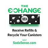 Soda Sense 60L CO2 Carbonator, Compatible with