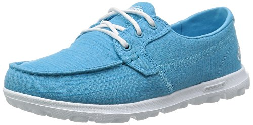 Skechers Performance Women's On-The-Go Flagship Slip-On Boat Shoe Turquoise Mist