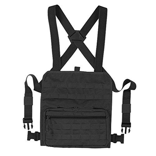 VooDoo Tactical 20-0130001000 Admin Chest Rig, Black