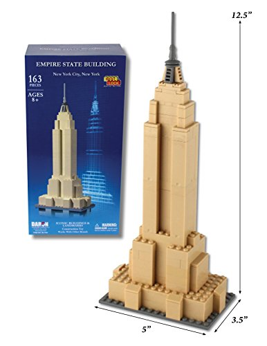 Daron Worldwide Trading Empire State NYC Building Kit (163 Piece)