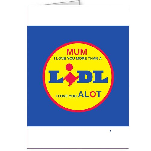 Lidl Mothers Day Joke Card Funny Amazon Kitchen Home