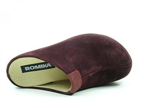 Rouge 28 Gomera ROMIKA 04 74604 Femme Pantoufles 8YfxHqw