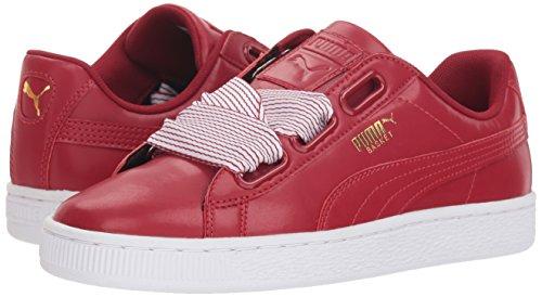 365198 Scarpe Dahlia Red Pumapuma Da Dahlia Basket Con Puma red Donna Cuore Donna 5qTwESxS