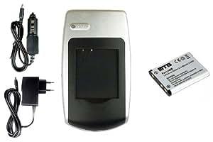 Batería + Cargador DS5370 para Rollei Powerflex 440, 450, 455, 460, 470, 500, 600