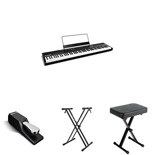 Why Choose Alesis Recital 88-Key Beginner Digital Piano with Full-Size Semi-Weighted Keys and Power ...