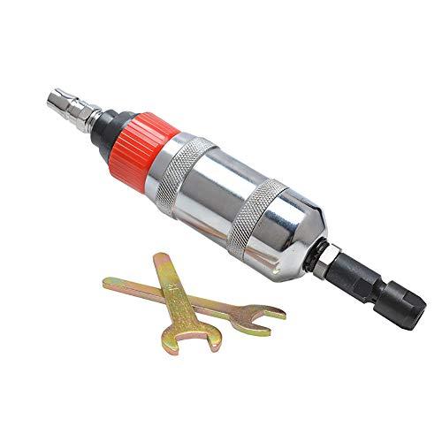 (Pneumatic Grinding Machine Polishing Tool Polishing Machine/Sandpaper Machine Cleaning Finishing, Car Maintenance, Removing Rust, Burrs,17500Rpm,Silver)