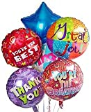 Thank You Balloon Bouquet-6 Mylar