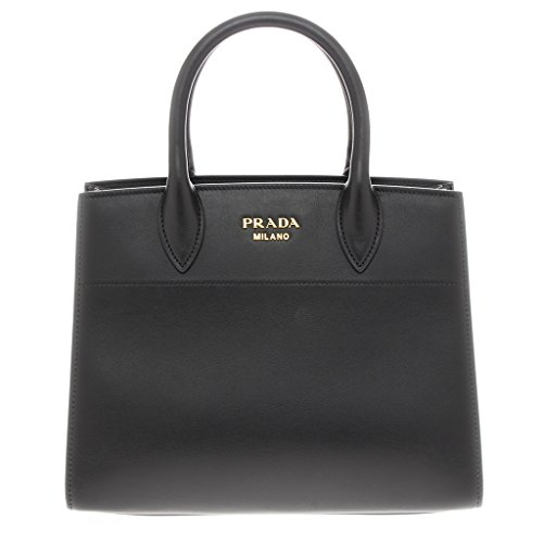 Prada-Womens-Watersnake-Trunk-Tote-Bag-Black
