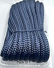 """Empire ropes Nylon Double Braided Dock line Rope 1/2"""" x25' Navy Blue Color for Marine line, Boats, Moorin"""
