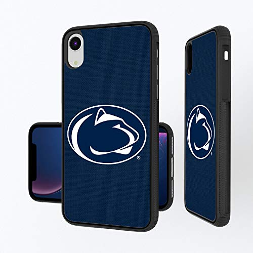 Keyscaper NCAA Penn State Nittany Lions Apple iPhone Bump Case, iPhone XR, Black