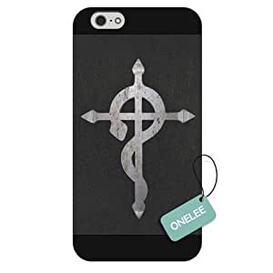"iPhone 6 4.7 case,Japanese Anime Series FullMatal Alchemist Logo iPhone 4.7"" Case, Hard Plastic Case for iPhone 6"
