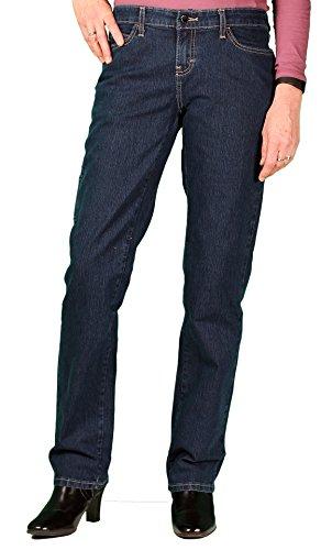 Womens Stretch Carpenter Jean (Dickies Women's Stretch Carpenter Pant, Indigo Blue, Size 8RG)