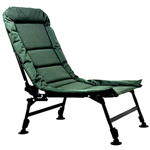 HUIFANG Folding Chair Fishing Chair Balcony Leisure Outdoor Camping Chair Canvas Camping Recliner Office Lunch Break Recliner A
