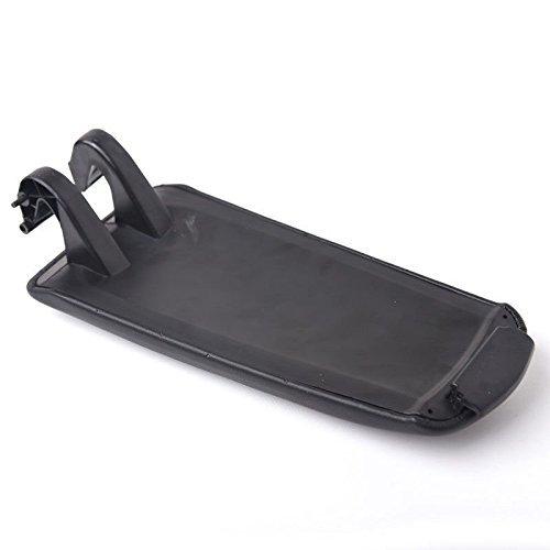 Wisamic reposabrazos coche apoyabrazos protector ABS cobertura color negro