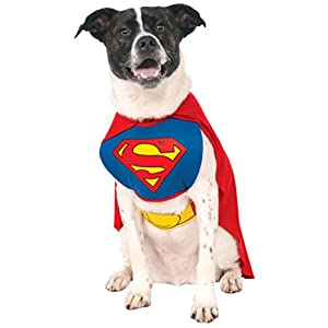 Rubie's DC Comics Pet Costume, Superman, Large