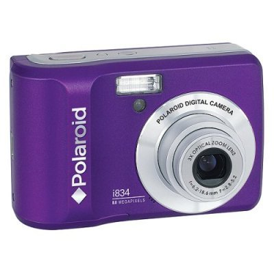 Polaroid Purple Megapixel Digital Camera