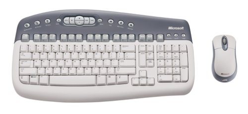 Microsoft T20-00001 Basic Wireless Optical Desktop PC/MAC by Microsoft