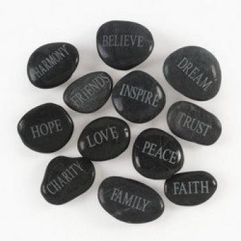 Fun Express Bulk Faith Stones Novelty (1 Dozen)