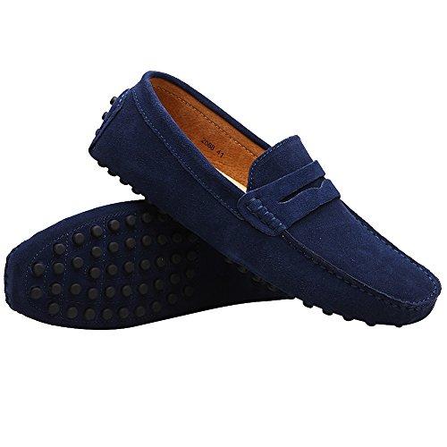 Flats Un Zapatos Mocasines Armada Loafer Auto Hombre Resbalones Conduciendo Rismart RwftRY