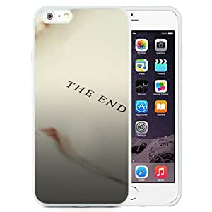 Fashionable Custom Designed iPhone 6 Plus 5.5 Inch Phone Case With Simple Book End_White Phone Case