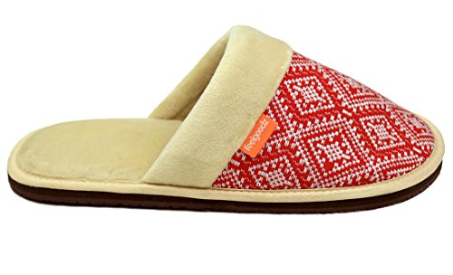 Slippers Eco Extremely Poinsettia friendly Comfortable Feelgoodz Conscious Materials And Socially Handwoven 5166nv0