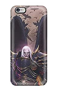 Durable Defender Case For Iphone 6 Plus Tpu Cover(gothic Dark Angel Abstract Dark) by lolosakes