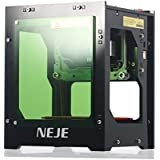 NEJE 1500mW Laser Engraver Printer, 550x550 Pixel DIY USB Mini Engraving Machine, CNC Router Cutting Carver Off-line Operation for Art Craft Science,