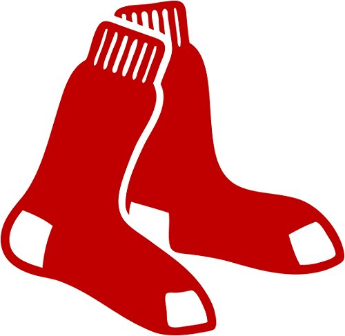 TDT Printing & Custom Decals Boston Red Sox Vinyl Decal Sticker for Car or Truck Windows, Laptops etc.