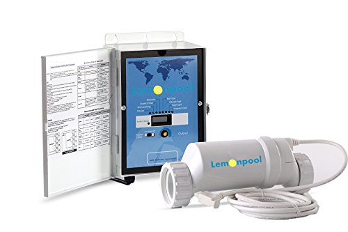 Lemonpool® Salt Water Pool Chlorine Generator system Chlorinator BLH40 for 40k Gallon Pool | With Flow Switch and White Salt Cell | 5 Year Limited Warranty Saltwater Chlorine Chlorinator