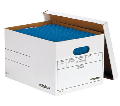 OfficeMax Letter/Legal Basic Strength Boxes - Basic Strength Storage Boxes