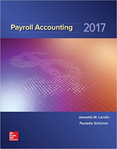 Amazon payroll accounting 2017 9781259572180 jeanette landin payroll accounting 2017 3rd edition fandeluxe Images