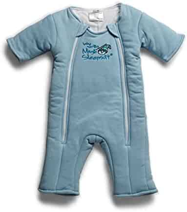 Baby Merlin's Magic Sleepsuit Cotton-Blue-3-6 months