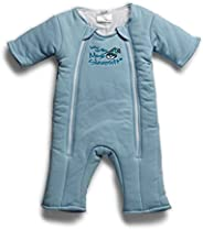 Baby Merlin's Magic Sleepsuit - Swaddle Transition Product - Cotton-Blue-3-6 Mo