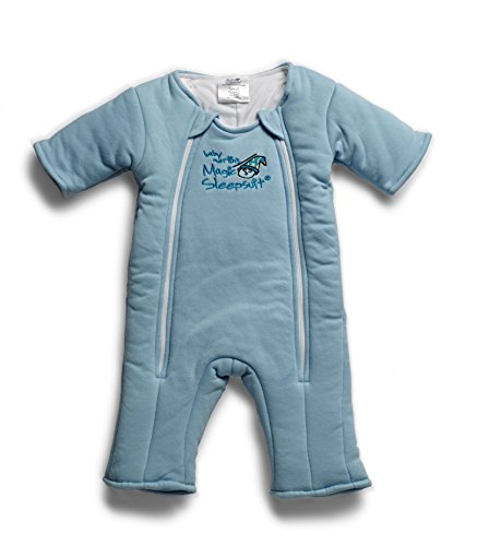 Why Should You Buy Baby Merlin's Magic Sleepsuit Cotton-Blue-3-6 months