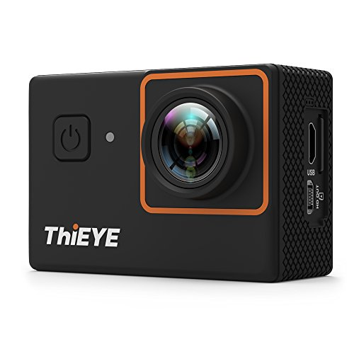 ThiEYE i30+ 4K 12MP WiFi Action Camera 197ft Waterproof Sports Camcorder 2.0Inch LCD 170° Wide Angle APP Control & Full Accessories