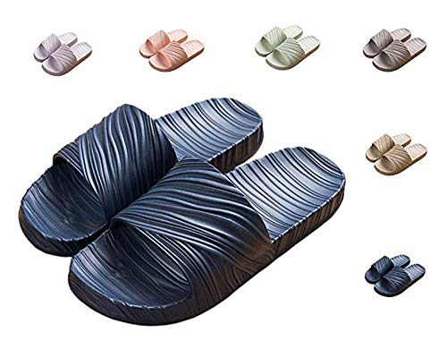 Men Slippers Bedroom Home Swimming D Non Indoor Shower Sandals Asifn blue Slip Women Summer FBqxAffwd